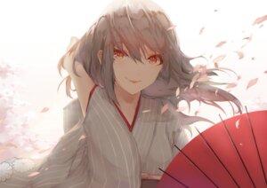 Rating: Safe Score: 25 Tags: japanese_clothes saihate umbrella User: charunetra