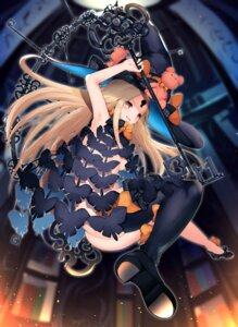 Rating: Questionable Score: 41 Tags: abigail_williams_(fate) ass cisyo fate/grand_order heels naked thighhighs weapon witch User: sym455