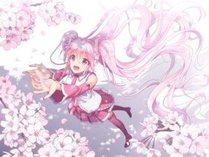 Rating: Safe Score: 44 Tags: hatsune_miku headphones heels sakura_miku thighhighs vocaloid youshuu User: nphuongsun93