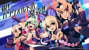 Rating: Safe Score: 9 Tags: armed_blue:_gunvolt bodysuit gun tagme wallpaper User: onisora