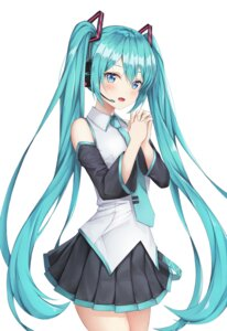 Rating: Safe Score: 33 Tags: hatsune_miku headphones kokose vocaloid User: yanis