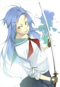 Rating: Safe Score: 7 Tags: kyo seifuku sword User: midzki