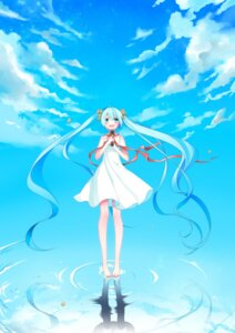 Rating: Safe Score: 37 Tags: dress hatsune_miku temari_(artist) vocaloid User: charunetra