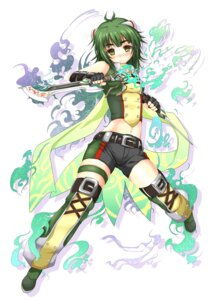 Rating: Safe Score: 29 Tags: hisen_kaede sword thighhighs User: hobbito