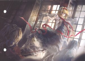 Rating: Safe Score: 16 Tags: alice_margatroid archlich touhou User: Radioactive