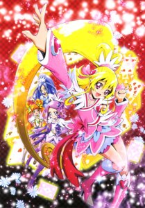 Rating: Safe Score: 5 Tags: aida_mana bike_shorts dokidoki!_precure dress heels hishikawa_rikka kamikita_futago kenzaki_makoto pretty_cure thighhighs yotsuba_alice User: drop