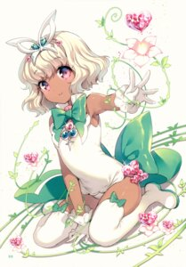 Rating: Questionable Score: 62 Tags: leotard loli nardack thighhighs User: charunetra