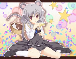 Rating: Safe Score: 29 Tags: animal_ears dress furanshisu nazrin pantsu tail touhou User: nophone