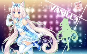 Rating: Safe Score: 76 Tags: animal_ears heels nekomimi nekopara sayori silhouette thighhighs vanilla wallpaper User: Deadhunt