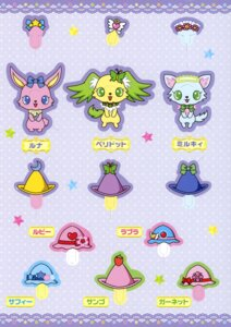 Rating: Safe Score: 1 Tags: character_design jewelpet jewelpet_twinkle luna_(jewelpet_twinkle) milky miyakawa_tomoko peridot_(jewelpet_twinkle) User: midzki