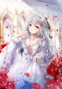 Rating: Safe Score: 33 Tags: cleavage dress girls_frontline iws-2000_(girls_frontline) mutang wedding_dress User: Mr_GT