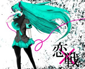 Rating: Safe Score: 11 Tags: hatsune_miku koi_wa_sensou_(vocaloid) pantyhose vocaloid womu User: charunetra