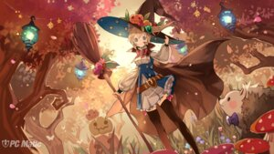 Rating: Safe Score: 56 Tags: dress halloween pc_matic thighhighs tobi_(pixiv54366) wallpaper witch User: moonian