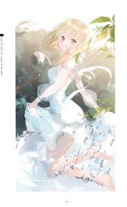 Rating: Questionable Score: 37 Tags: dress miwano_ragu summer_dress User: BattlequeenYume