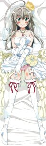 Rating: Questionable Score: 49 Tags: dakimakura dress fixed haiyore!_nyaruko-san nyaruko tagme wedding_dress User: 雪車町