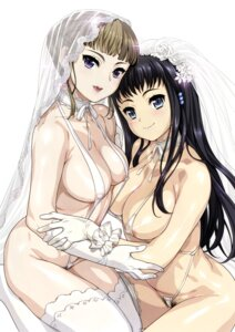 Rating: Questionable Score: 95 Tags: areola byakuya_rinne cleavage erect_nipples euphoria hamashima_shigeo manaka_nemu pubic_hair sling_bikini swimsuits thighhighs User: demonbane1349