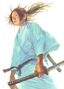 Rating: Safe Score: 2 Tags: inoue_takehiko male sword vagabond User: Umbigo