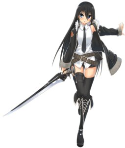 Rating: Safe Score: 56 Tags: sword thighhighs ukeuke User: Sanderu