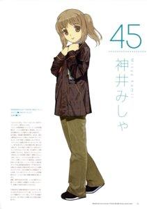 Rating: Safe Score: 3 Tags: kamii_misha mibu_natsuki tetsudou_musume User: fireattack