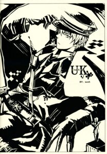 Rating: Safe Score: 2 Tags: hetalia_axis_powers male monochrome united_kingdom User: Macchiato
