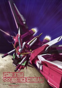 Rating: Safe Score: 4 Tags: gundam gundam_seed gundam_seed_destiny infinite_justice_gundam mecha shigeta_satoshi sword User: Radioactive