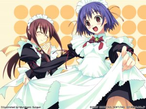 Rating: Safe Score: 11 Tags: maid murakami_suigun pia_carrot takayashiki_mizuki wallpaper yaegashi_kanae User: admin2