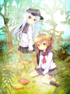 Rating: Safe Score: 44 Tags: hibiki_(kancolle) inazuma_(kancolle) kantai_collection shirogane_hina User: fairyren