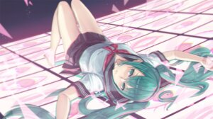 Rating: Safe Score: 31 Tags: 2d hatsune_miku seifuku vocaloid User: 麻里子