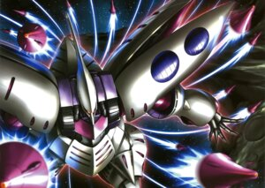 Rating: Safe Score: 3 Tags: gundam gundam_zz mecha qubeley zeta_gundam User: Radioactive