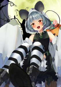 Rating: Safe Score: 13 Tags: animal_ears bloomers halloween nazrin skirt_lift tagme tail thighhighs touhou User: Mr_GT