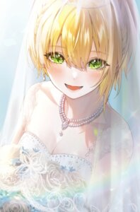 Rating: Safe Score: 19 Tags: cleavage dress magako miyamoto_frederica see_through the_idolm@ster the_idolm@ster_cinderella_girls wedding_dress User: Arsy