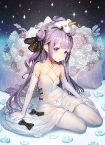 Rating: Safe Score: 80 Tags: azur_lane cleavage dress no_bra pantsu qbase00 see_through thighhighs unicorn_(azur_lane) User: Mr_GT