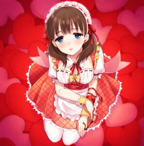 Rating: Safe Score: 43 Tags: chisumi cleavage maid sakuma_mayu the_idolm@ster the_idolm@ster_cinderella_girls User: nphuongsun93