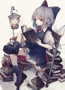 Rating: Safe Score: 29 Tags: cirno hito_komoru touhou wings User: Mr_GT
