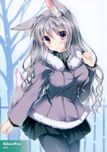Rating: Safe Score: 95 Tags: animal_ears pantyhose sweater tail tateha User: Hatsukoi