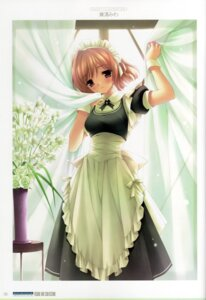 Rating: Safe Score: 15 Tags: kanekiyo_miwa maid nogisaka_motoka yosuga_no_sora User: admin2