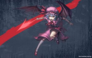 Rating: Safe Score: 7 Tags: cuboon remilia_scarlet touhou wallpaper wings User: Mr_GT