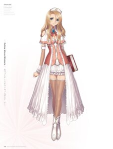 Rating: Questionable Score: 56 Tags: cleavage digital_version dress rufina_wyndaria sega shining_hearts shining_world thighhighs tony_taka User: Twinsenzw
