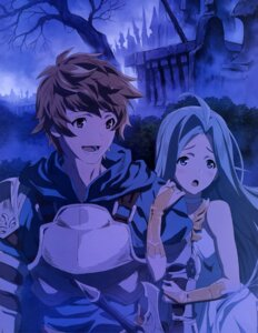 Rating: Questionable Score: 17 Tags: armor dress gran_(granblue_fantasy) granblue_fantasy lyria_(granblue_fantasy) sword tagme User: drop