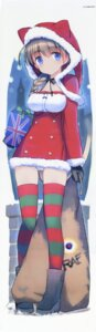 Rating: Questionable Score: 72 Tags: animal_ears christmas dakimakura lynette_bishop shimada_humikane strike_witches_gekijouban tail thighhighs User: 雪車町