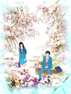Rating: Safe Score: 10 Tags: kazehaya_shouta kimi_ni_todoke kuronuma_sawako User: hammer