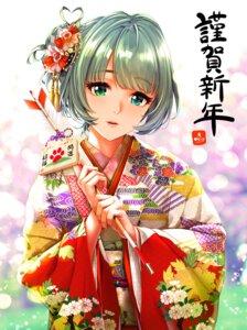 Rating: Safe Score: 15 Tags: heterochromia infinote kimono takagaki_kaede the_idolm@ster the_idolm@ster_cinderella_girls User: Mr_GT