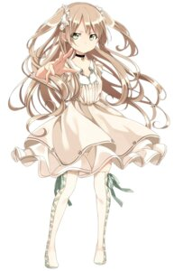 Rating: Safe Score: 20 Tags: dress sama thighhighs User: Nekotsúh