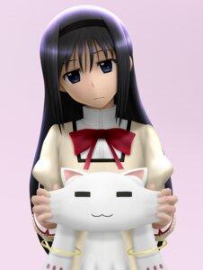 Rating: Safe Score: 13 Tags: akemi_homura kyubey puella_magi_madoka_magica siraha User: SubaruSumeragi