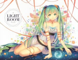 Rating: Safe Score: 83 Tags: hatsune_miku tid vocaloid wings User: yong