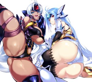 Rating: Questionable Score: 45 Tags: ass erect_nipples kos-mos negresco pantsu t-elos thighhighs underboob xenosaga xenosaga_iii User: Radioactive