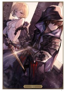 Rating: Safe Score: 14 Tags: armor djeeta_(granblue_fantasy) gran_(granblue_fantasy) granblue_fantasy tagme weapon User: Twinsenzw