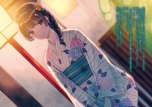 Rating: Safe Score: 54 Tags: hinohana_yukine hiten seigo_no_koutei_to_maken_no_kishihime yukata User: kiyoe