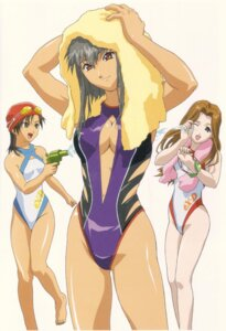 Rating: Questionable Score: 6 Tags: cleavage endou_lorna erect_nipples ex-driver gun kazama_rei sakakino_lisa swimsuits towel wet User: Radioactive