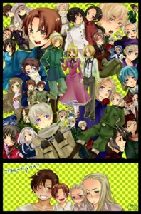 Rating: Safe Score: 7 Tags: america austria belarus belgium canada china cuba denmark egypt estonia finland france germania germany greece hetalia_axis_powers holy_roman_empire hong_kong hungary iceland japan korea latvia liechtenstein lithuania north_italy norway poland prussia rome russia sealand seychelles south_italy spain sweden switzerland taiwan thailand tibet turkey ukraine united_kingdom yamato_(la_luce) User: charunetra